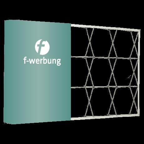Messewand - Textilfaltwand